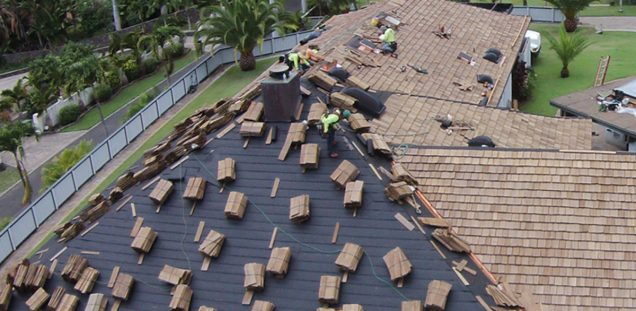 View of the Best Roofing