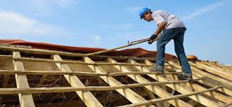 Roofing Contractor Replacing the Roof