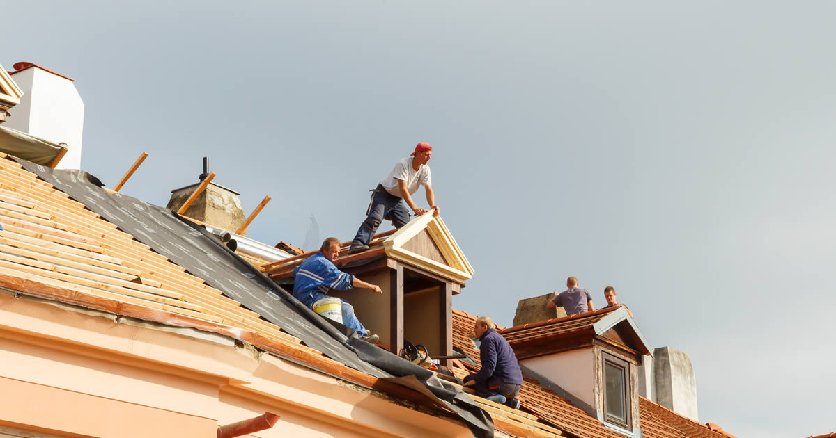 McKinney, TX Roofing Contractor on the Roof
