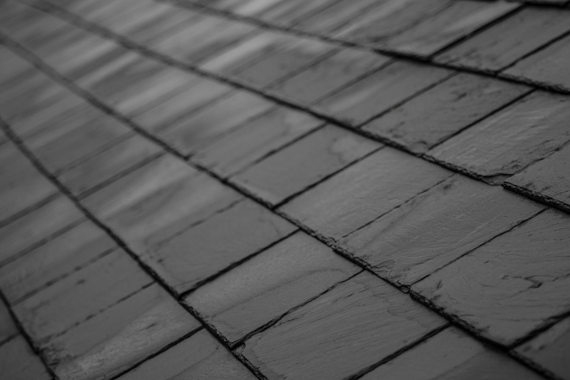 Slate Roofing Surface