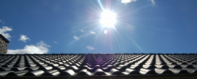 UV Rays on roof