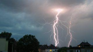 Roof Struck By Lightning